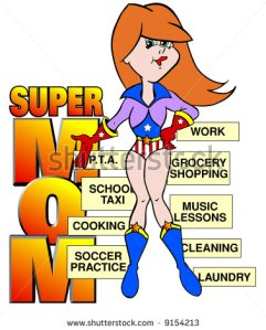 stock-photo-cartoon-art-of-a-mom-dressed-as-super-hero-with-various-jobs-attached-titled-super-mom-9154213